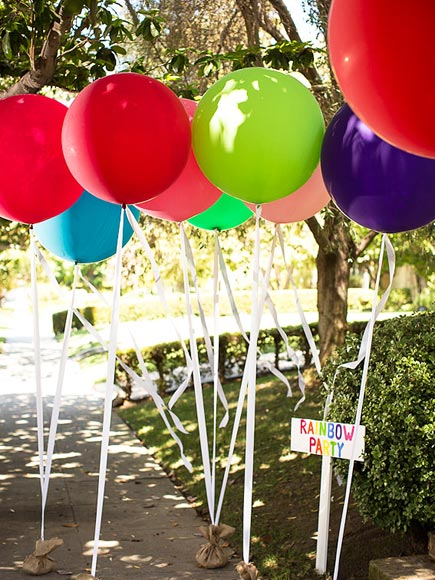 Party Planning 101: Soleil Moon Frye's Rainbow-Themed Birthday Bash