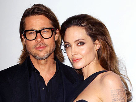 Brad Pitt & Angelina Jolie 'Would Like To' Marry, Says Pitt