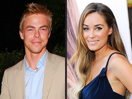 Lauren Conrad Has a 'Giddy' Run-In with Ex Derek Hough