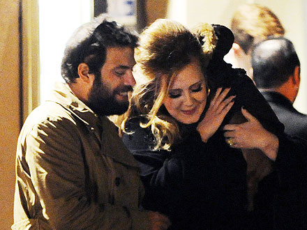 Adele Parties with Her New Beau in London