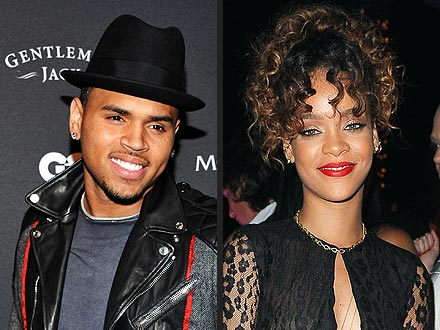 Rihanna & Chris Brown Ignore Each Other at L.A. Club | Chris Brown, Rihanna