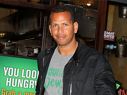 Alex Rodriguez Gets Help with His Luggage at LAX