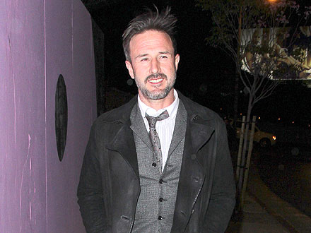 David Arquette Takes It Easy at the Chateau