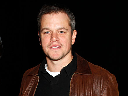 Matt Damon Sips Cocktails in (a Former) Jail!