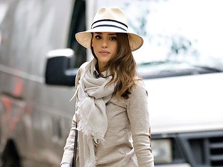 Jessica Alba Sips Scotch in N.Y.C.
