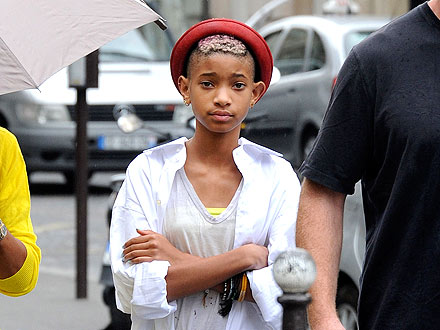 Willow Smith's Fancy Shopping Frolic in France