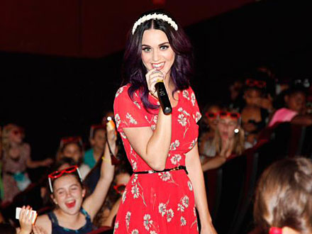 Katy Perry Makes a Surprise Appearance at L.A. Screening of Her Movie