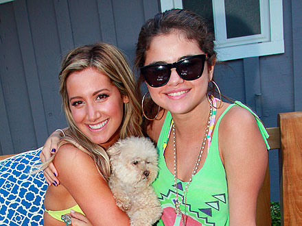 Ashley Tisdale's Star-Studded Beach Birthday Bash | Ashley Tisdale, Selena Gomez