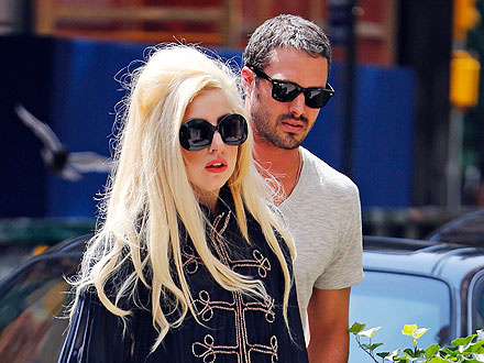 Lady Gaga Accompanies Beau Taylor Kinney to His Brother's L.A. Wedding