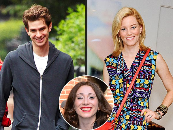 Andrew Garfield and Elizabeth Banks Pal Around at a Private Concert