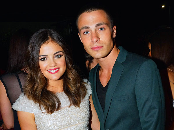 Lucy Hale 'So Happy' to Have Drinks with Colton Haynes at Chateau Marmont