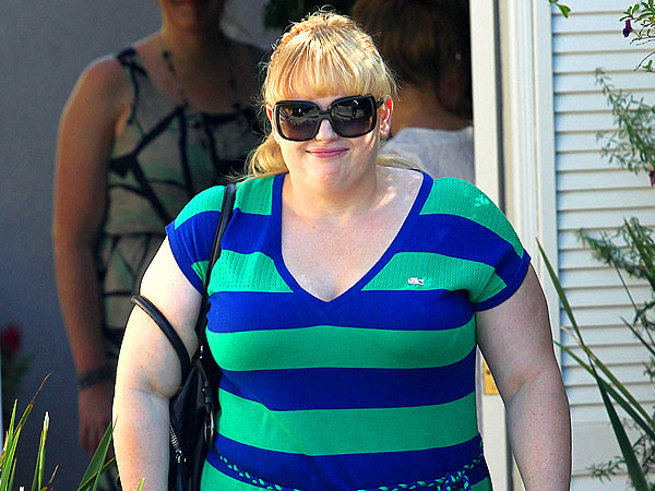 Pitch Perfect's Rebel Wilson Dines with a Mystery Man