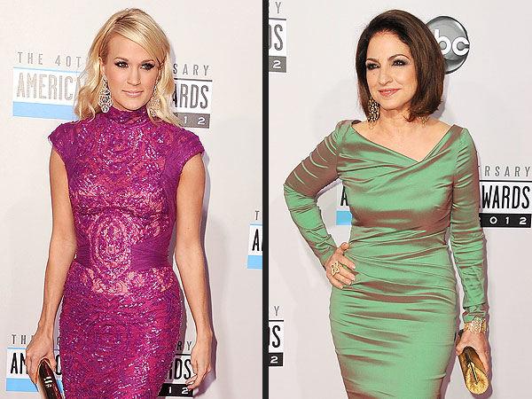 Carrie Underwood & Gloria Estefan Party Post-AMAs in L.A.