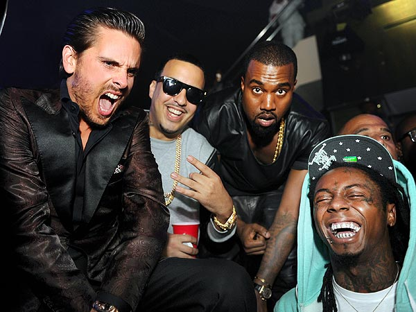 Diddy, Kanye, Fat Joe Delight Miami Clubgoers with Surprise Concert