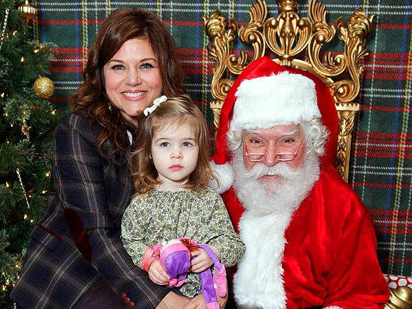 90210 Stars Reunite at Santa's Workshop in L.A.