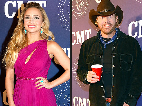 Hayden Panettiere & Toby Keith Share Whiskey in Tennessee