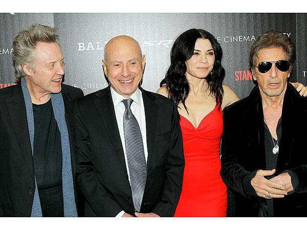 Al Pacino, Christopher Walken & Alan Arkin Are Stand Up Guys in N.Y.C.