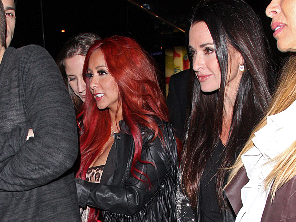 You'll Never Guess Who Snooki Partied with This Week
