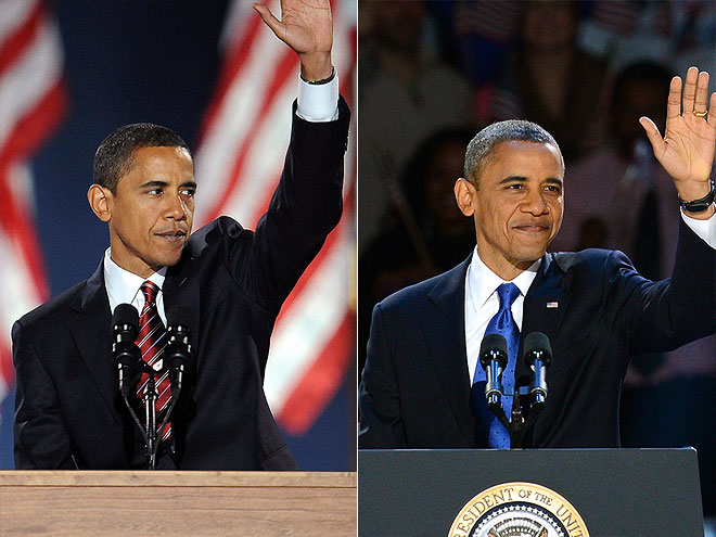 Barack Obama's Presidential Campaign: 2008 vs. 2012