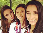 London Uncovered: Olympians' Snapshots | Aly Raisman, Kyla Ross, McKayla Maroney