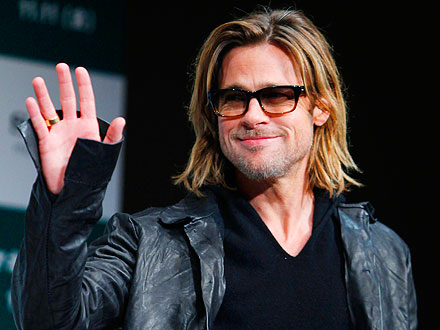 Brad Pitt Celebrates 48th Birthday in Vegas
