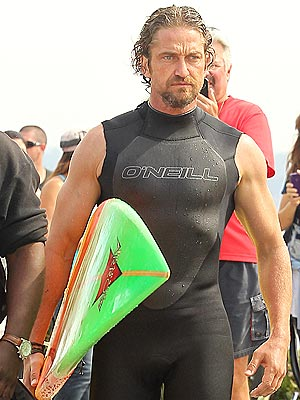 Gerard Butler Hospitalized After Surfing Accident in California