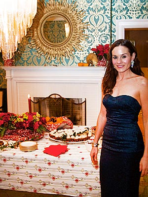 Kara DioGuardi Throws a Holiday Party in Maine