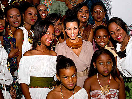 Kim Kardashian Haiti Trip: I Didn't Go to a Fashion Show