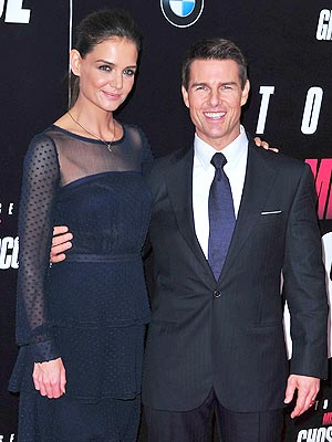 Tom Cruise, Katie Holmes Split