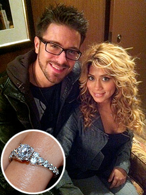 Danny Gokey, Leyicet Peralta Proposal, Ring Photo