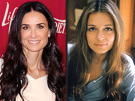 Gloria Steinem Played by Demi Moore in Lovelace: Report