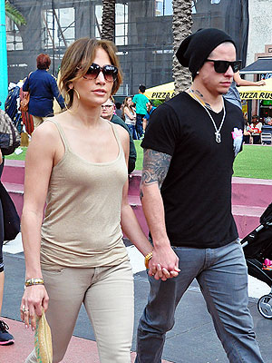 Jennifer Lopez  on Jennifer Lopez   Casper Smart  Age Doesn T Matter   People Com