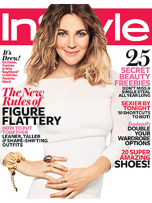 Drew Barrymore, InStyle Interview About Will Kopelman