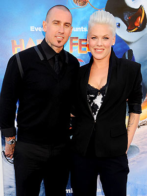 Pink & Carey Hart Celebrate Six Years of Marriage