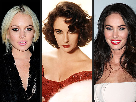 Elizabeth Taylor Lifetime Movie: Lindsay Lohan & Megan Fox Up for the Role