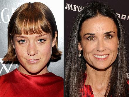 Demi Moore Hospitalized; Chloe Sevigny Cast in Lovelace