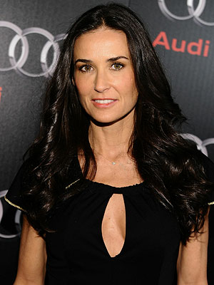 Demi Moore Out of Rehab, In Better Place