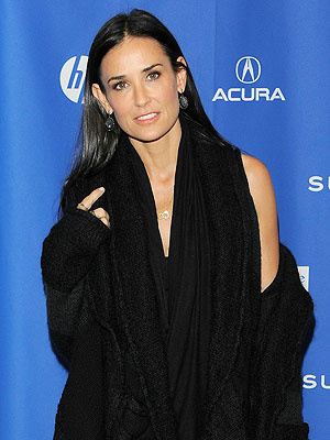 Demi Moore Changes MrsKutcher Twitter Handle to JustDemi