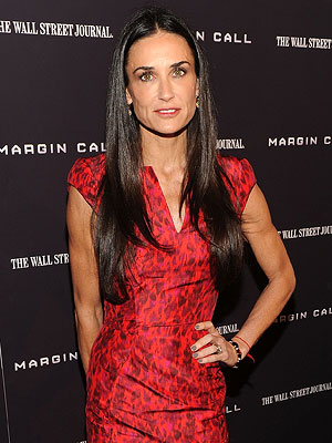 Demi Moore Photo at Margin Call Premiere in New York City