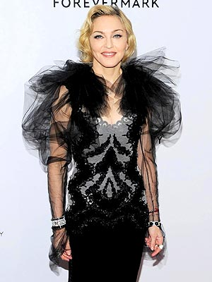 Madonna Cries W.E. Premiere