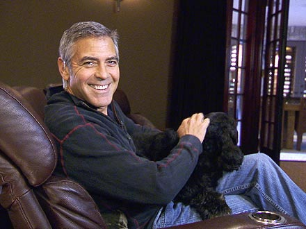 George Clooney Takes CBS Inside His L.A. Home