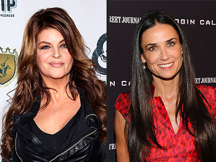 Demi Moore: Kirstie Alley Offers Support