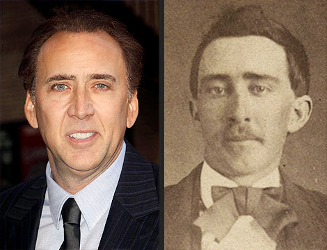 Nicolas Cage Vampire Photos - Actor Tells David Letterman He&#39;s Not Undead