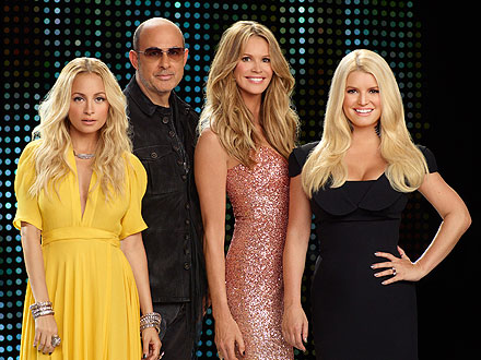Jessica Simpson, Nicole Richie on Fashion Star