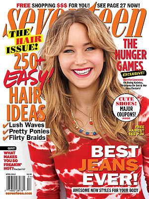 Jennifer Lawrence Dishes on Her Sexy Hunger Games Costars