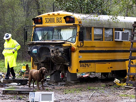 Kids Found Living Alone in Abandoned Bus