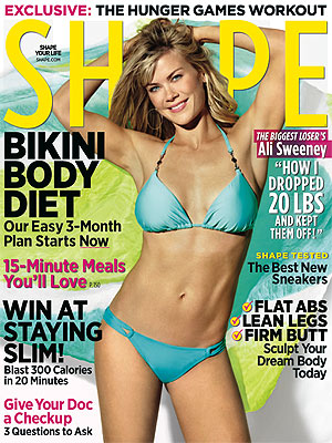 Alison Sweeney Wears Bikini on Shape Magazine Cover