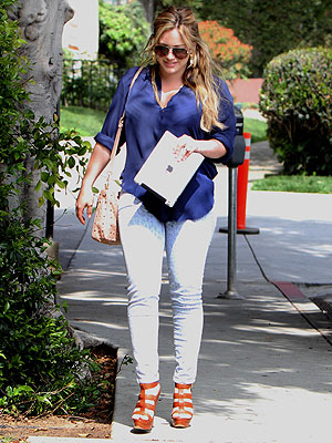 Hilary Duff Steps Out Post-Baby