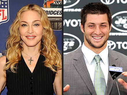 Tim Tebow Gets Madonna Twitter Love