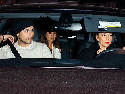Eva Longoria, Eduardo Cruz Have a Cozy Night Out